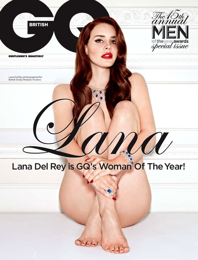 More Celebrities with No Panties 9 - Lana Del Rey with no panties