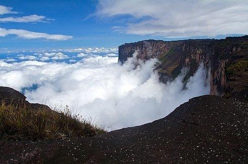 Mount Roraima in Venezuela, Brazil, and Guyana 2 Unusual Place