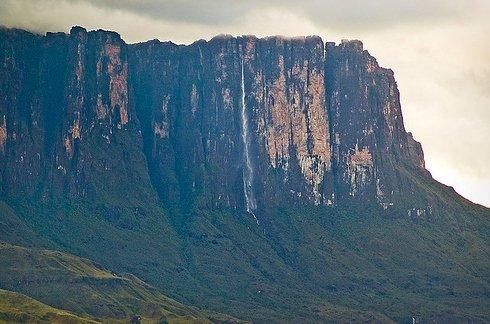 Mount Roraima in Venezuela, Brazil, and Guyana 3 Unusual Place
