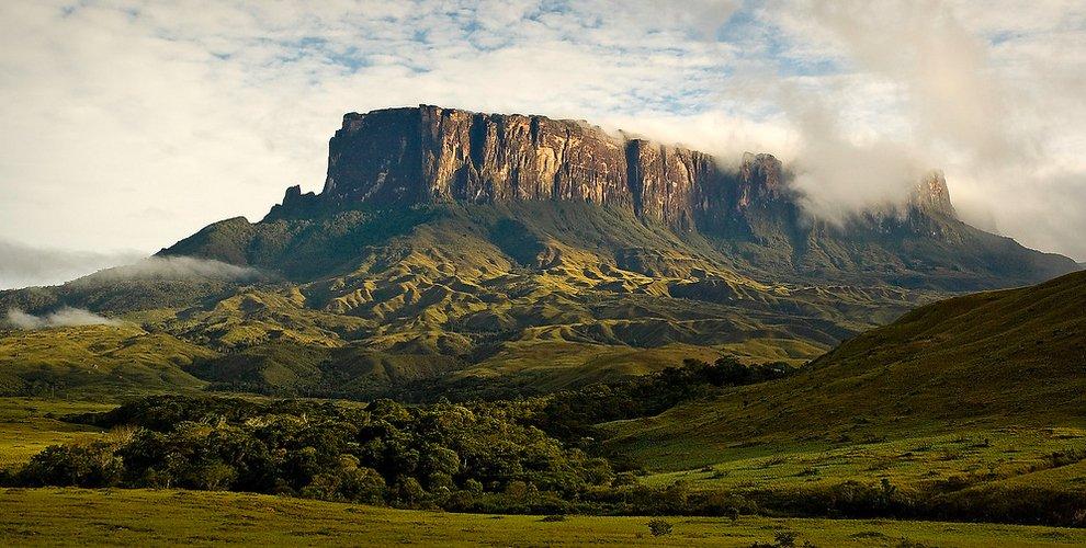 Mount Roraima in Venezuela, Brazil, and Guyana Unusual Places