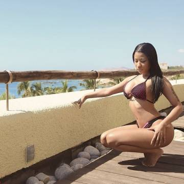 Nicki Minaj Bikini Photo