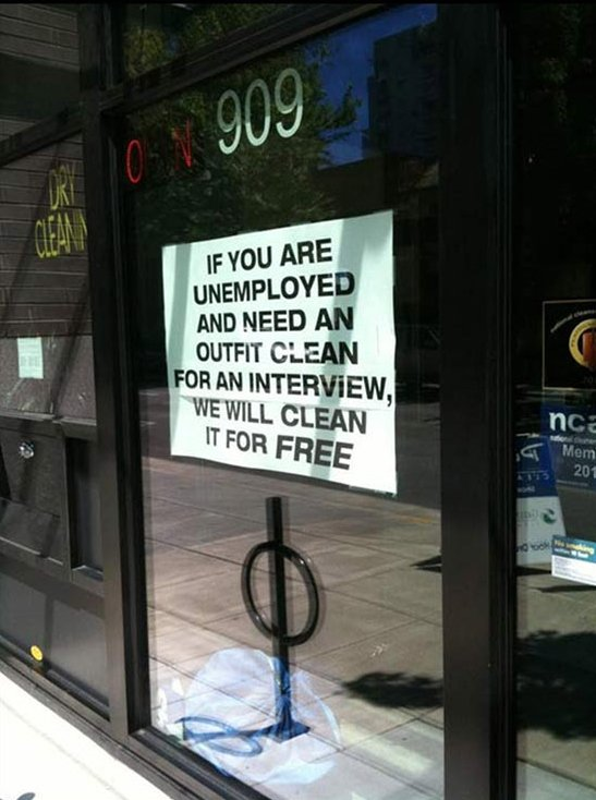 Offer For Unemployed People Bad Place