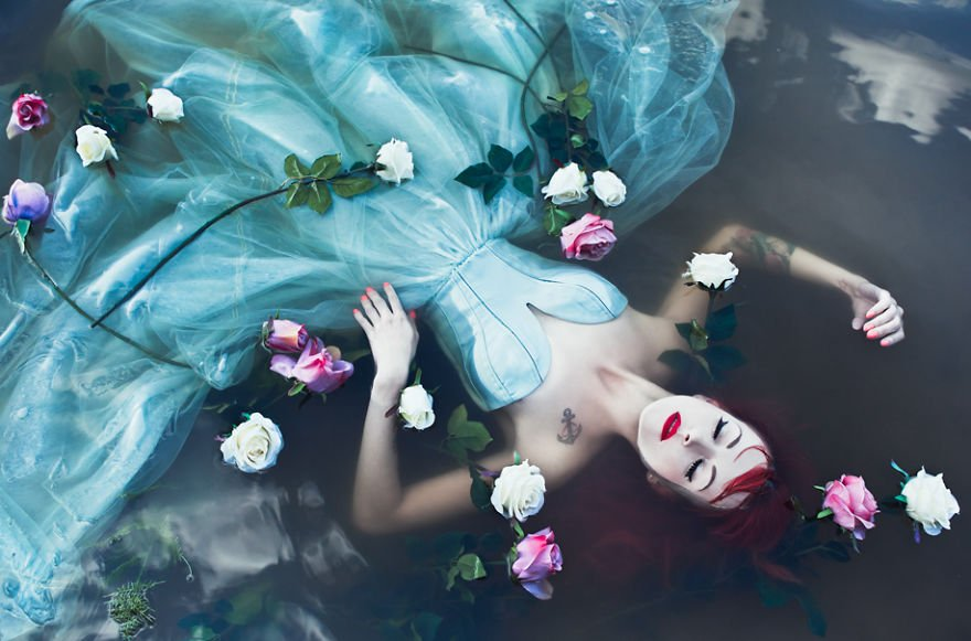 Ophelia Surreal Portraits