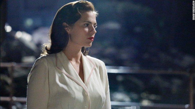 """Peggy Carter in """"Marvel's Agent Carter"""" Supergirls"""