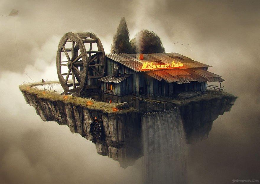 Perpetuum mobile Amazing Illustrations