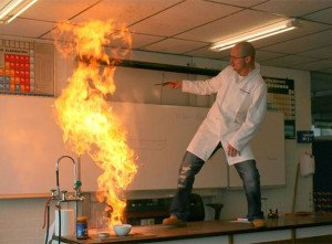 Playing with fire Awesome Teachers