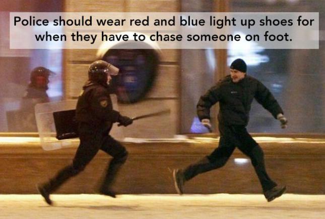 Police Shoe Light Smart Ideas