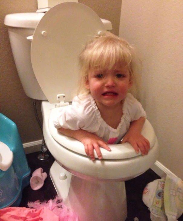 Potty training fail Parenting Fail