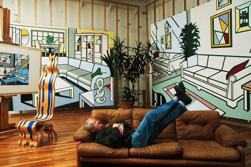 Roy Lichtenstein Famous Artists