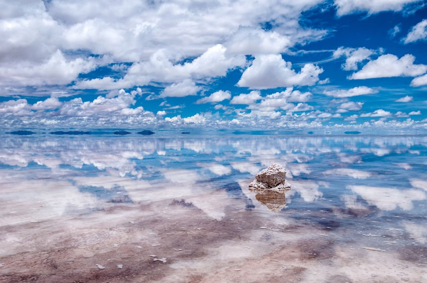 Salar Reflections travel Paradise