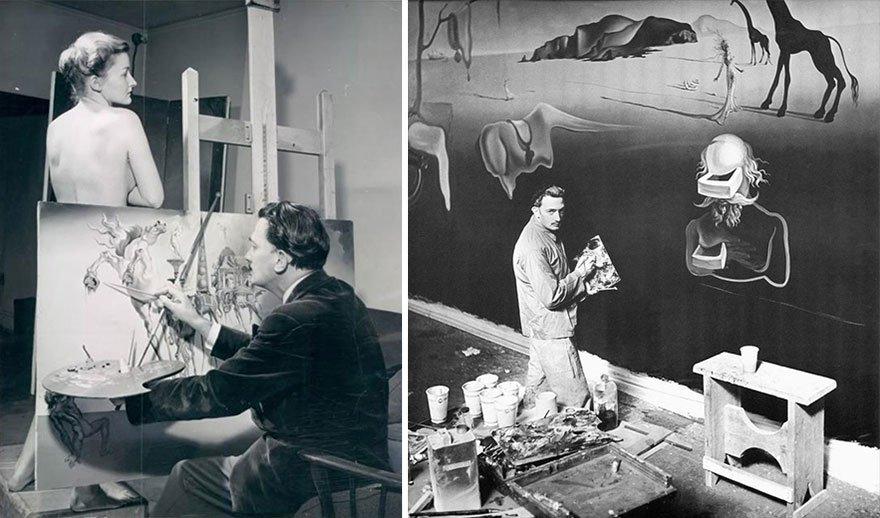 Salvador Dali Famous Artists