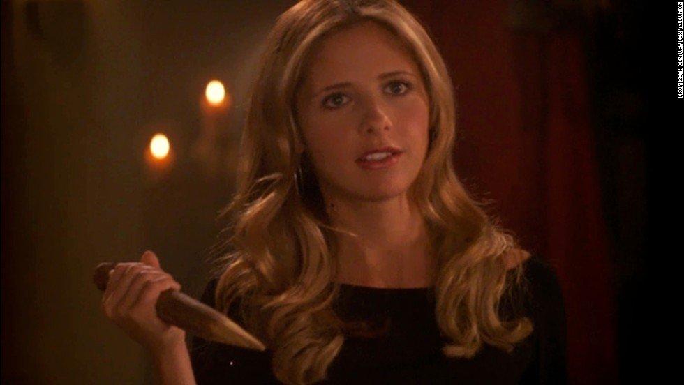Sarah Michelle Gellar in Buffy the Vampire Slayer Supergirls