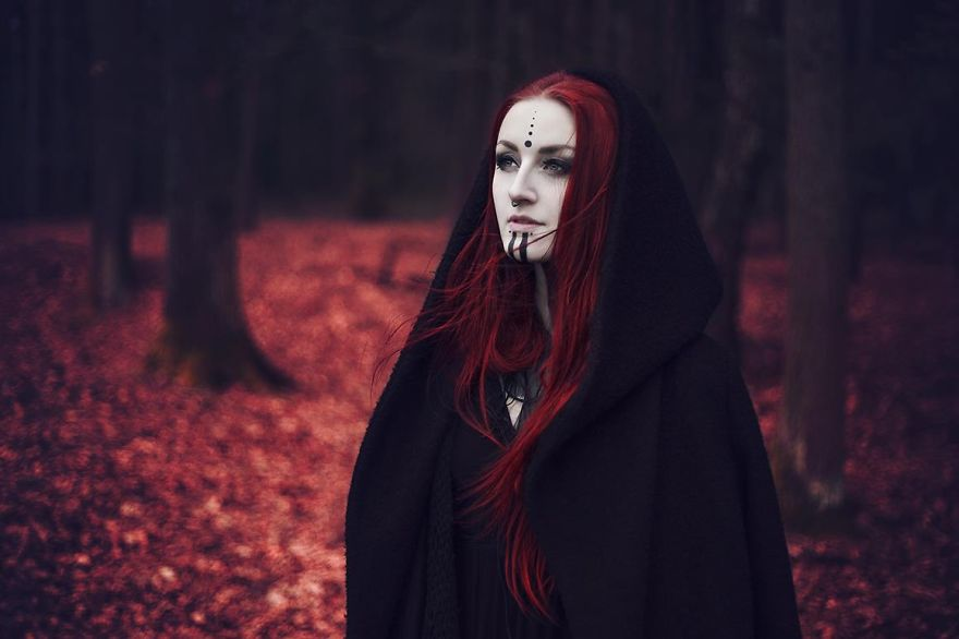 Second one with Striga at the haunted forest Surreal Portraits
