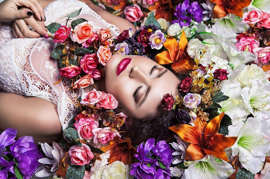 Spring Aneta Surreal Portraits