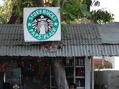 Fake Starbucks 11 Storebucks Place