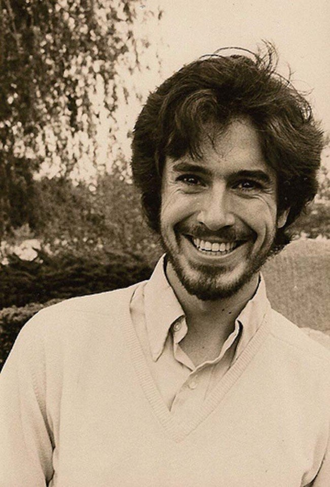Stephen Colbert in college. [c. 1984] Young Celebrity