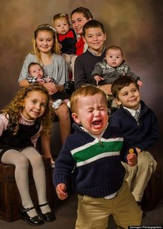 Stop all this non-sense Family Photo Fail