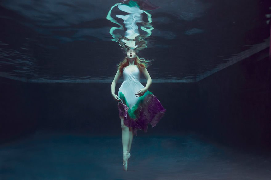 Swan princess (age 14) Little Underwater Dancers