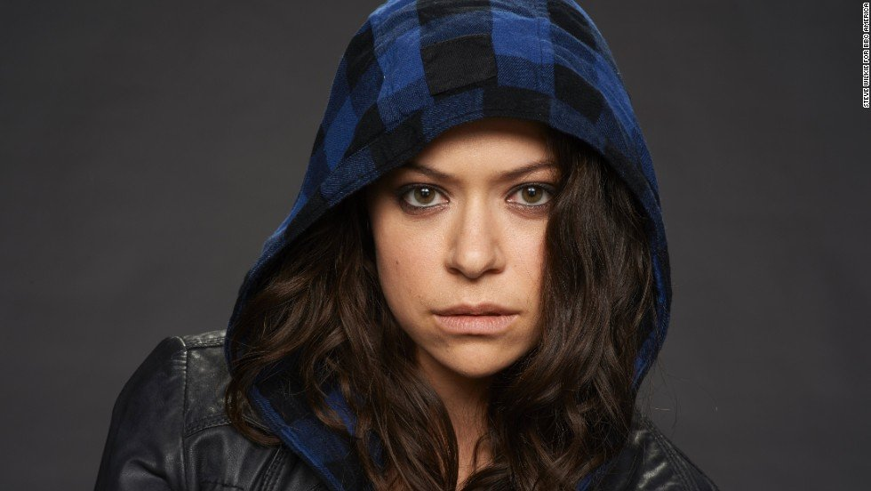 "Tatiana or Sarah Manning in the ""Orphan Black"" Supergirls"