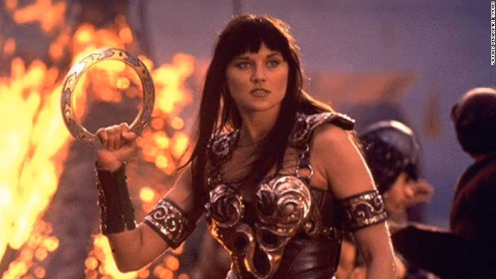 "The ""Xena, Warrior Princess"" Lucy Lawless Supergirls"