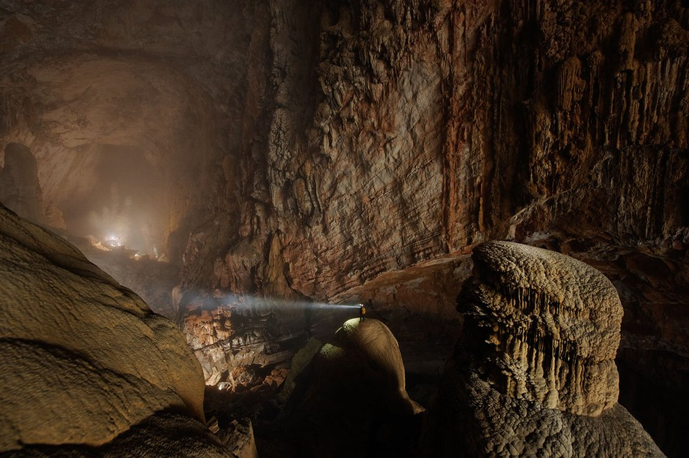 The Hang Son Doong cave in Quang Binh Province, Vietnam Unusual Places