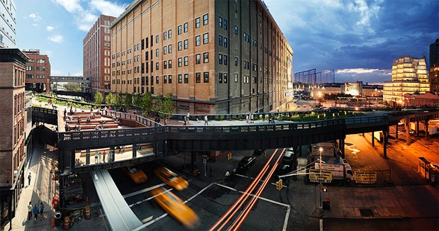 The Highline, NYC Day and Night