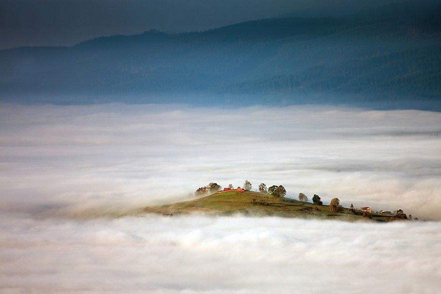 The Island Beskidy – Poland Misty Villages