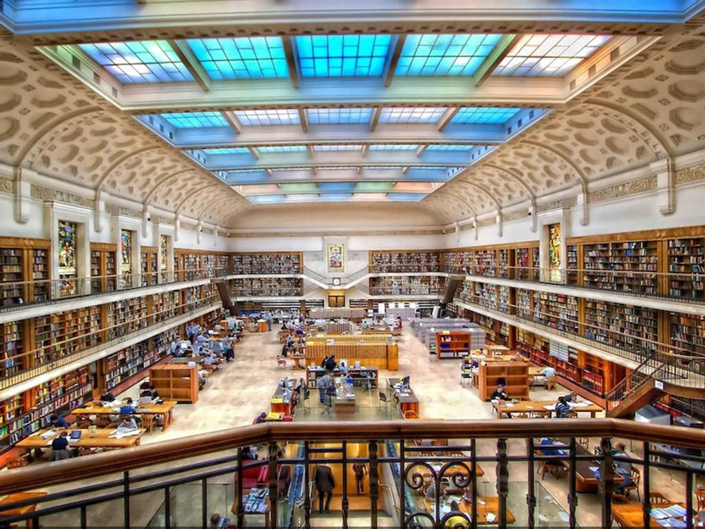The State Library of New South Wales (also known as the Mitchell Library) in Sydney, Australia House of Books