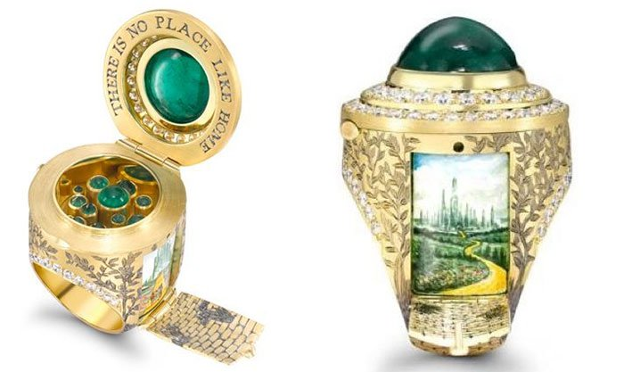 The Wonderful Wizard Of Oz Ring Incredible JewelriesThe Wonderful Wizard Of Oz Ring Incredible Jewelries