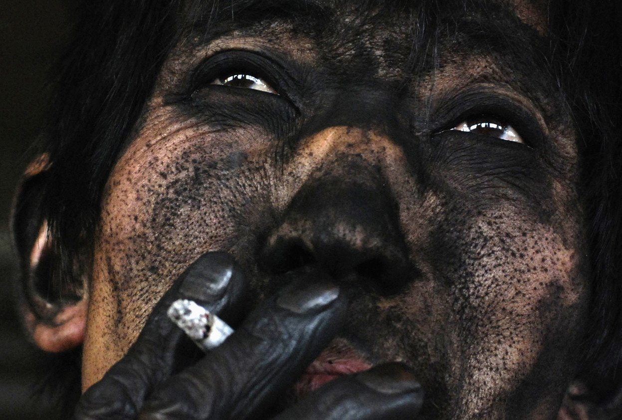The face of a Chinese coal miner Human Diversity