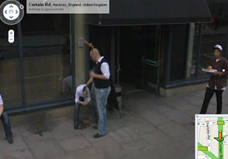 This Shoreditch night can't be found anymore, unfortunately. Google Street Surprises