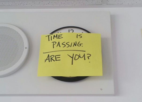 Time is passing Awesome Teachers