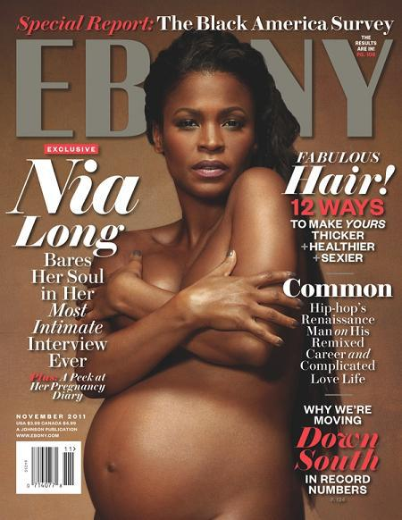 Topless Pregnant Celebrities 8 - Nia Long