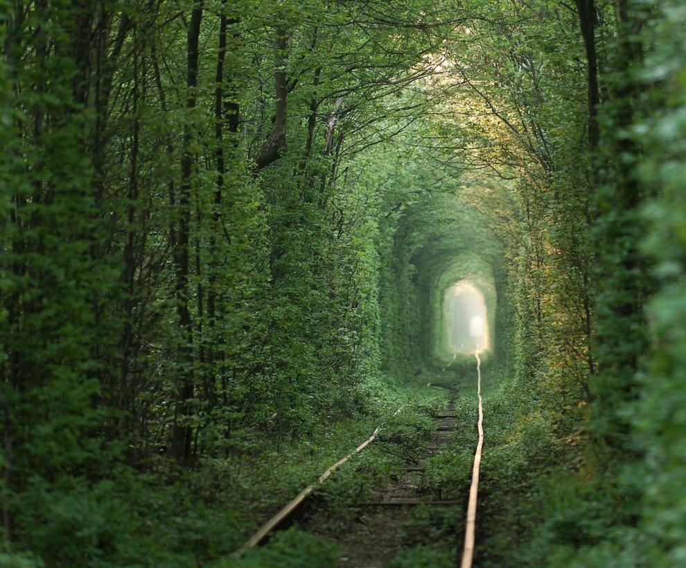 Tunnel of Love in Klevan, Ukraine Unusual Places