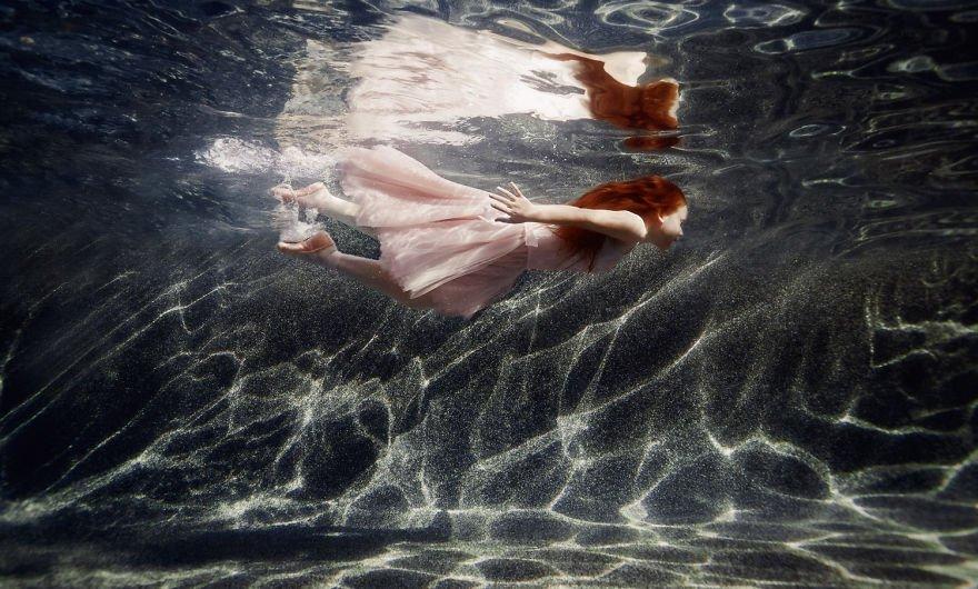 Valentine (age 8) Little Underwater Dancers