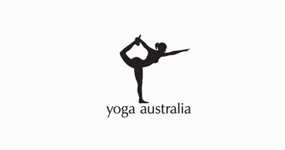 Yoga Australia Clever Logo