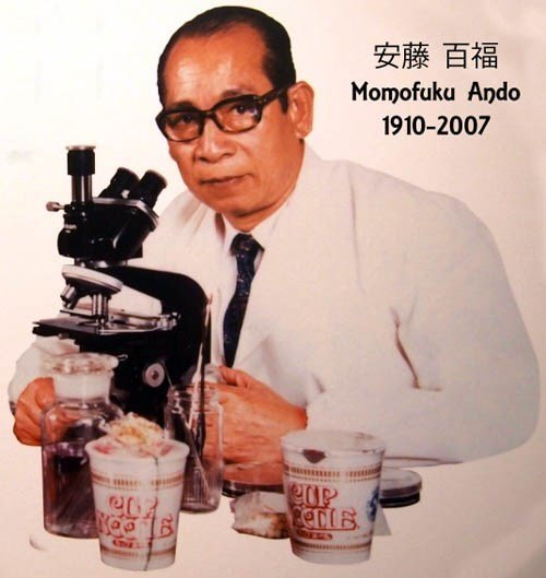 momofuku andos researching Instant Noodles