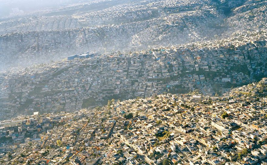 20 Millions in population (Mexico City) Overpopulation