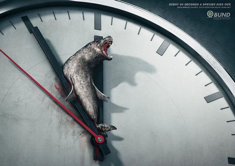 A species dies every 60 seconds Activism Ads
