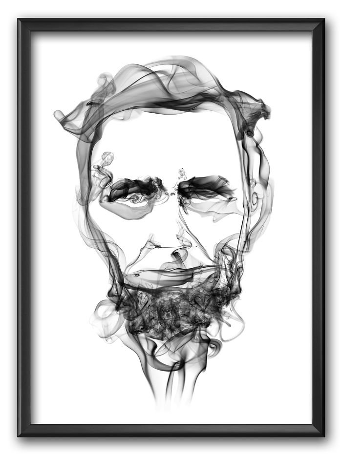 Abraham Lincoln Smoke Posters