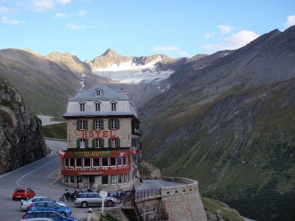 Amazing Hotel Belvedere Stun Switzerland