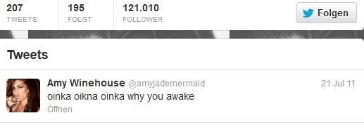 Amy Last Tweets