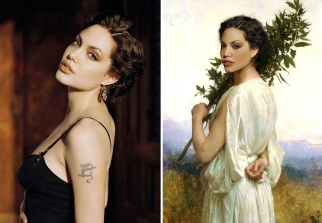 Angelina Jolie Historical Celebrities