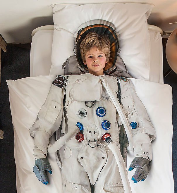 Astronaut Bed Cover Beautiful Galax