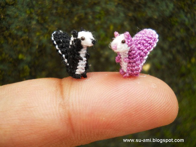 Awesome couple Tiny Crochets