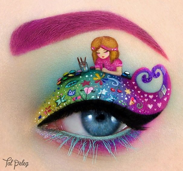 Barbie girl art, exceptional eye Eye Makeup