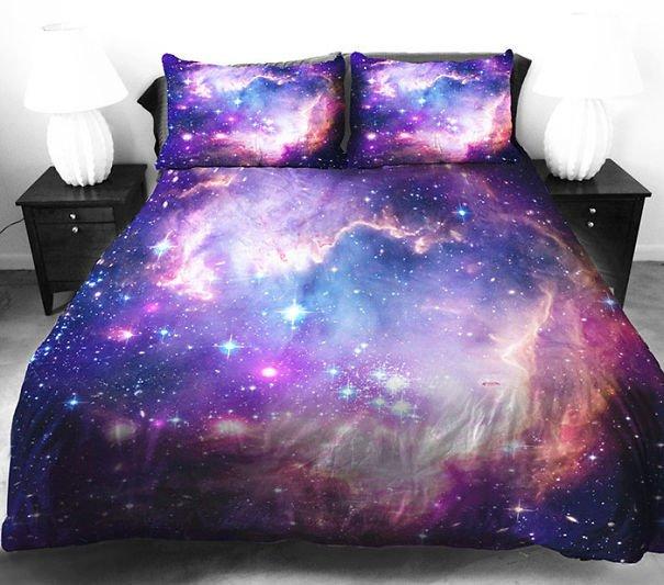Beautiful Galaxy Bedding