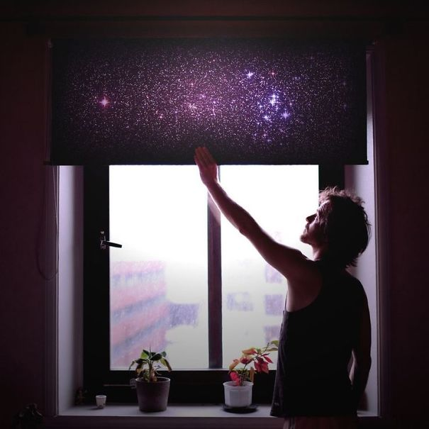 Beautiful Galaxy Blinds