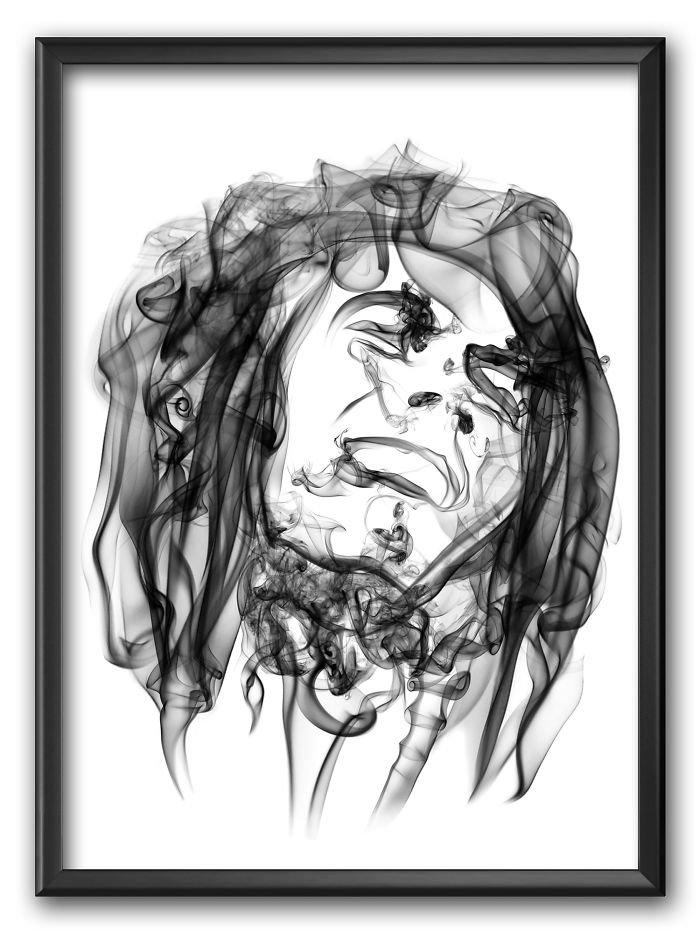 Bob Marley Smoke Poster
