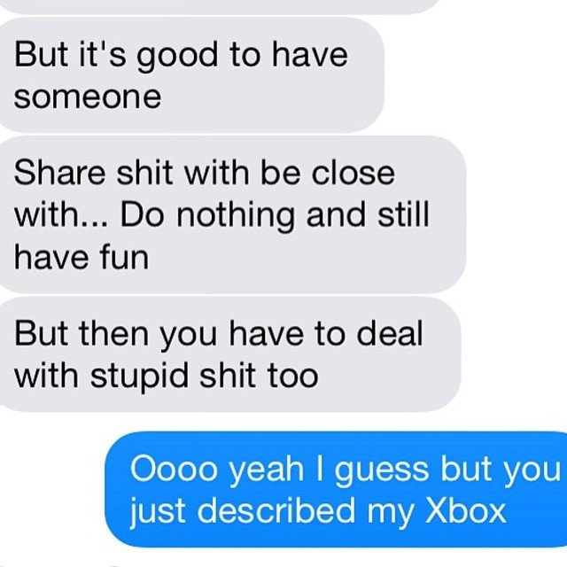 Boyfriend or Xbox, You decide Ex Texts